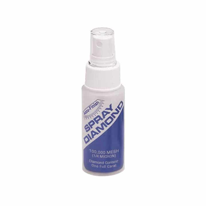 Spray de diamante, 1/4 micrón (extrafino)