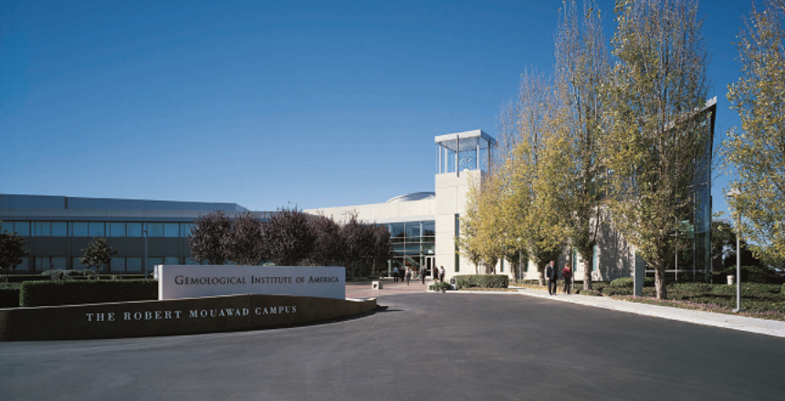 Gemological Institute of America o instituto gemológico de América